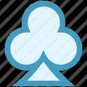 club, gambling, poker, poker card sign, poker element, poker symbol icon