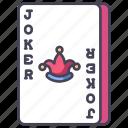 blackjack, card, casino, gambling, joker, poker icon