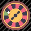 casino, gamble, gambling, lucky, risk, roulette, wheel icon