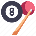 ball, game, pool, snooker, sport, table icon