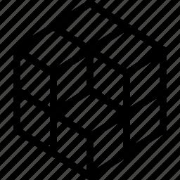 cube, puzzle, rubik, rubix icon