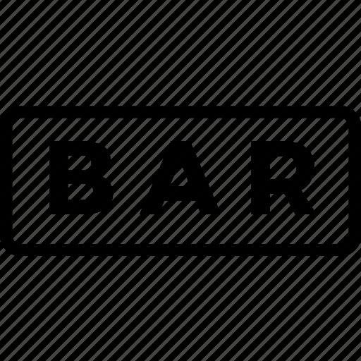 bar, mark, square icon