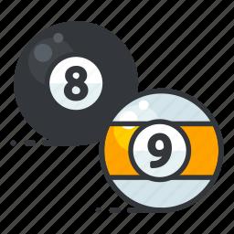 billiard, gamble, gambling, game, play icon