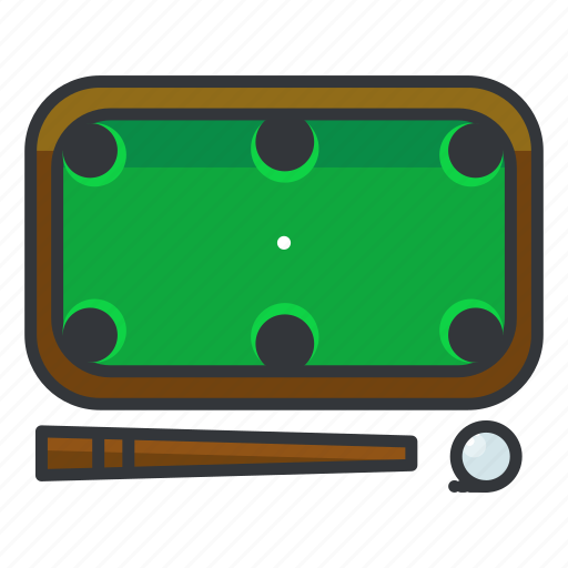 billiard, casino, gamble, gambling, game, table icon