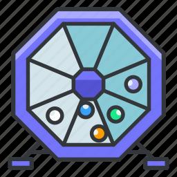 bingo, gambling, game, lottery, win icon