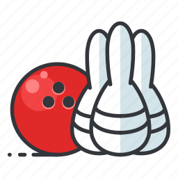 bowling, entertainment, gambling, game, play icon