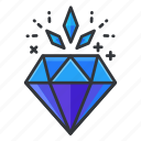casino, diamond, gamble, gambling, reward, value icon