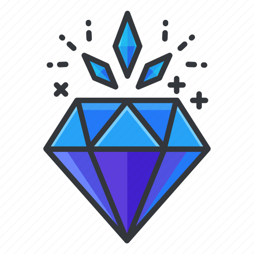 casino, diamond, gamble, gambling, reward, value icon