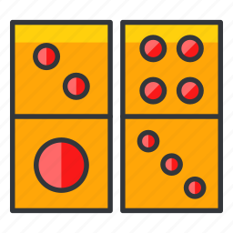 dice, domino, gamble, gambling, game icon