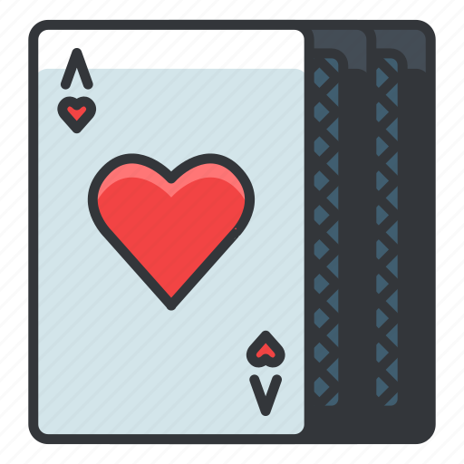 cards, gambling, game, hearts, playing icon