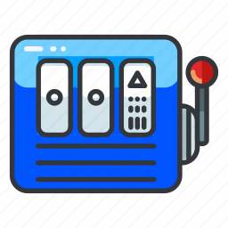 casino, gamble, gambling, game, machine, slot icon