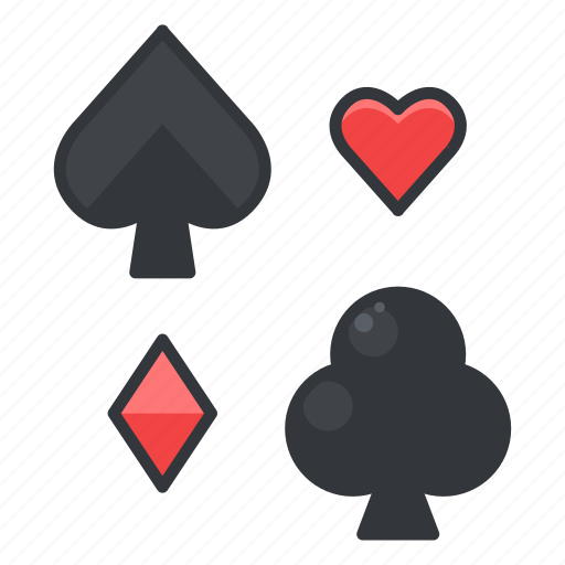 cards, gambling, game, play, playing icon