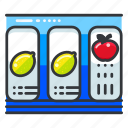 entertainment, gambling, game, machine, slot icon