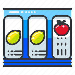 entertainment, gambling, game, machine, slot icon