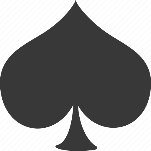 casino, gambling, game, spade icon