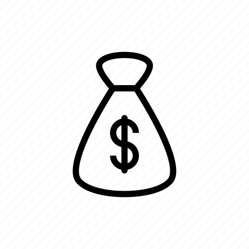 bag, cash, currency, dollar, money icon