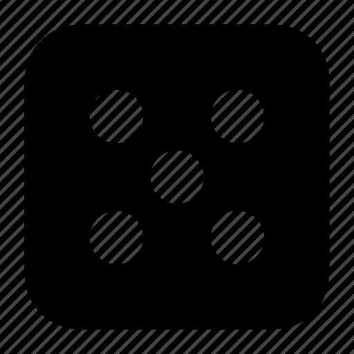 dice, game, random icon