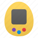 console, game, tamagotchi icon