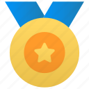 game, medal, winner icon