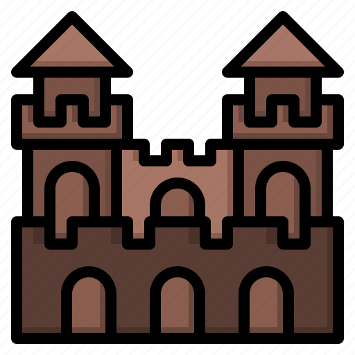 castle, fortress, game, legend, moba icon