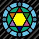 circle, game, magic, magical, rpg icon