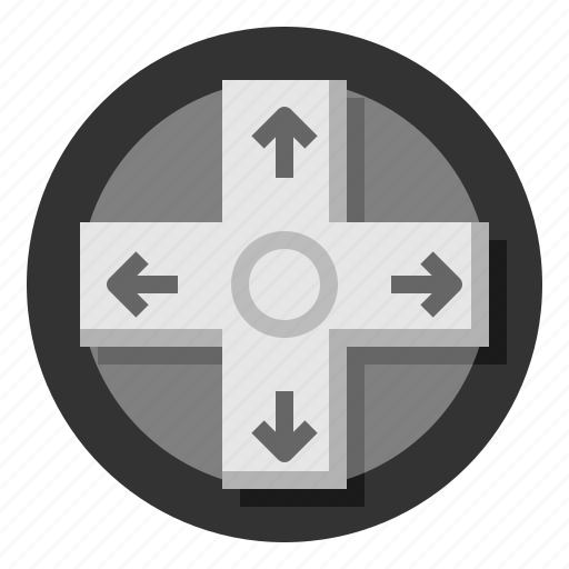 arrows, directional, game, gamepad, pc icon