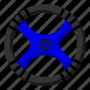 finish, flag, race, start icon