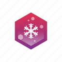 .svg, cold, snowflake, winter icon