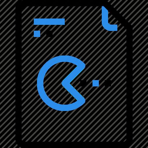 document, file, game, media, multimedia, paper icon