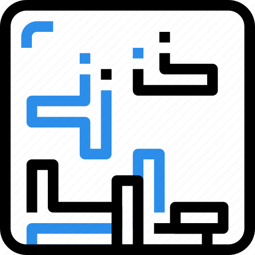 business, game, logic, puzzle, square, strategy icon