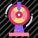fun, gaming, machine, wheel icon