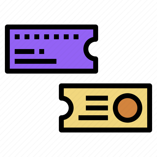 access, center, game, ticket icon
