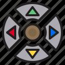 botton, controller, game, hardware icon