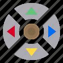 botton, controller, game, device icon