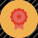 achievement, award, badge, design, game, gaming, medal, play, reward, ribbon, victory, win, winner icon