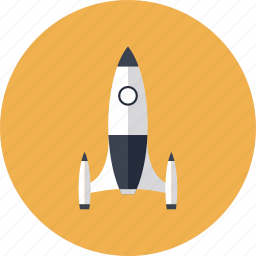 design, game, gaming, launch, play, rocket, ship, space, spacecraft, spaceship, speed, start icon