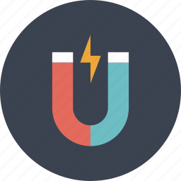 design, electric, energy, game, magnet, magnetic, play, power, resource icon