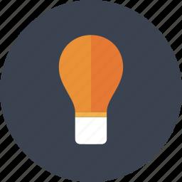 bulb, creative, design, game, gaming, idea, ideas, lamp, light, lightbulb, play, power, think icon