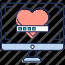 gaming, hearts game, hearts life, hearts rating, poker icon