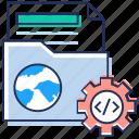 coding, development, document folder, folder programming, folder setting icon