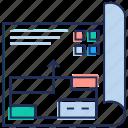 game manual, game plan, game scenario, game scroll, rules, scenario icon