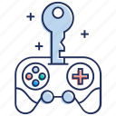 console access, game controller access, game remote, gamepad access, joypad approach icon