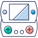 controller, game controller, game remote, gamepad, joypad icon