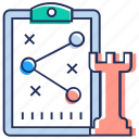game strategy, game tactics, sharing, sharing concept, strategy icon