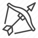 crossbow, game icon