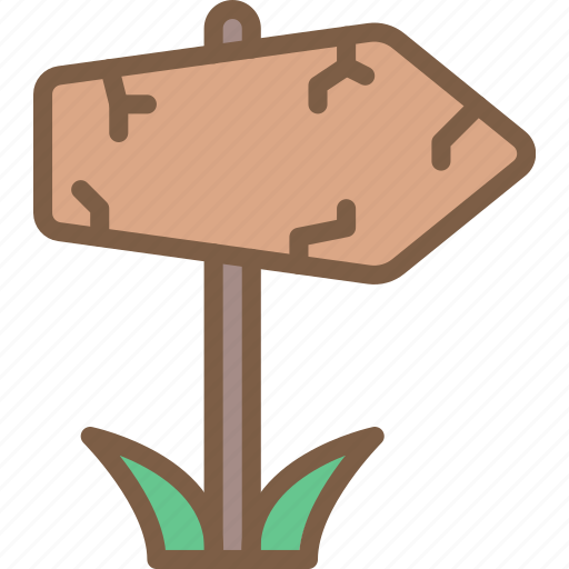 element, game, signpost icon