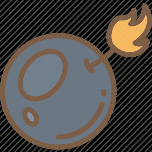 bomb, element, game icon