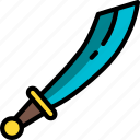 element, game, sword icon