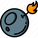 bomb, element, game icon