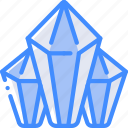 diamonds, element, game icon
